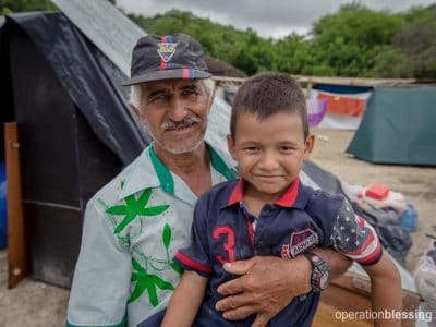 Pedro and his son, Abraham, survived the Ecuador Earthquake in a prayer closet