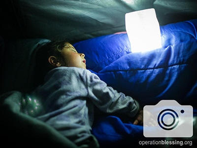 Light and Hope for Refugees in Greece